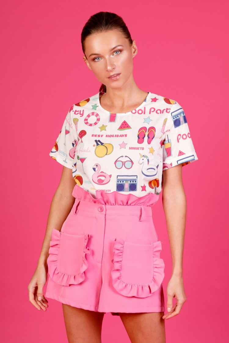 PINK PARTY TOP