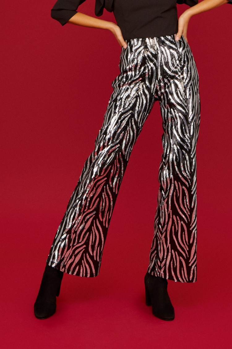 SILVER TIGER TROUSERS