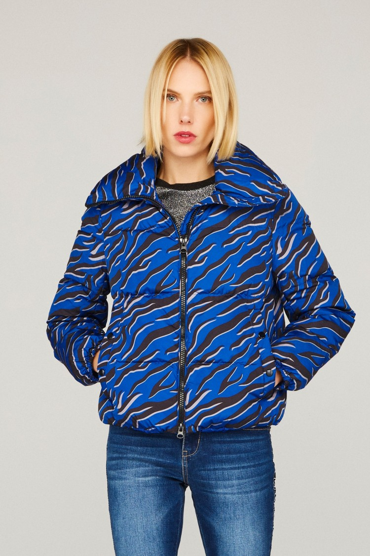 BLUE TIGER COAT