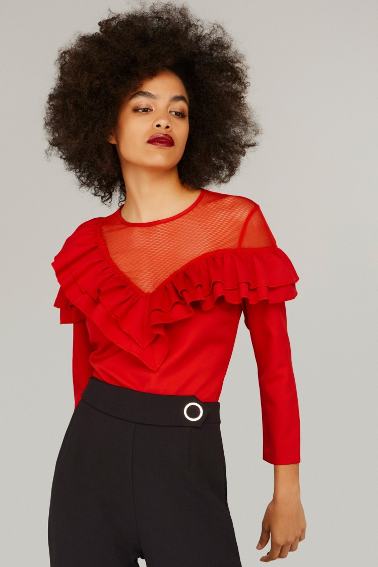 RED MAIKO TOP