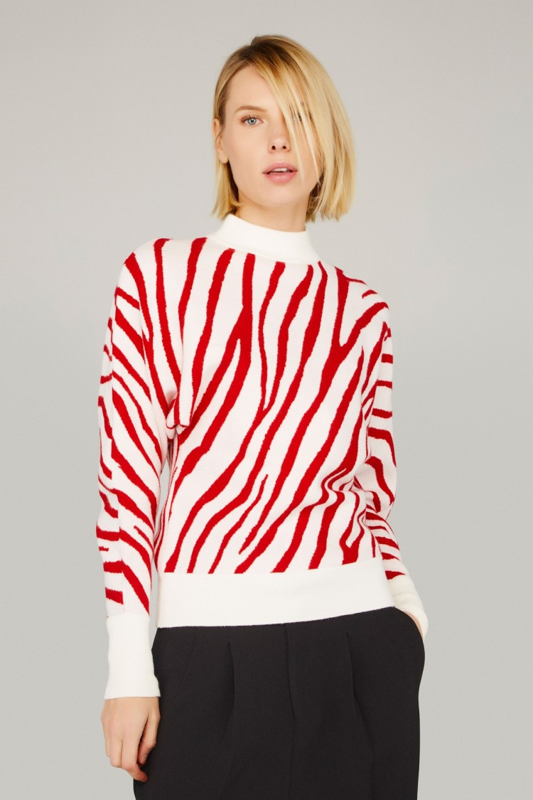 RED TIGER SWEATER
