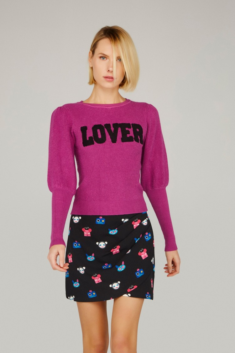 PINK LOVER SWEATER
